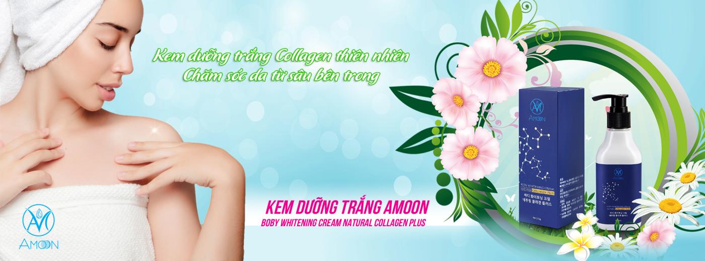 Kem dưỡng trắng da body Amoon - Mỹ Phẩm Hàn Quốc Nhập Khẩu Trang chủ